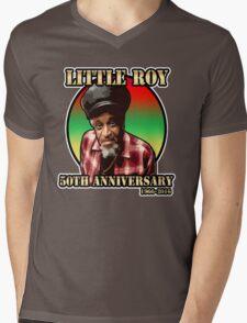 Little Roy Mens V-Neck T-Shirt