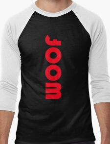 woof red Men's Baseball ¾ T-Shirt