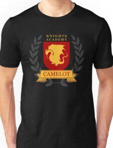 Camelot Knights Academy Print Unisex T-Shirt