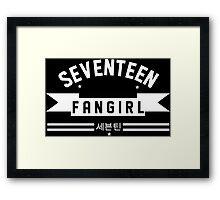 FANGIRL SVT Framed Print