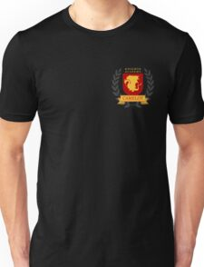 Alternative Style Camelot Knights Academy Print Unisex T-Shirt