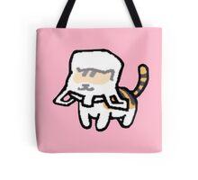 Neko Atsume - Breezy with plastic bag Tote Bag