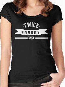 TWICE FANBOY Women's Fitted Scoop T-Shirt