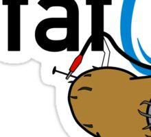 Potato GladOS Sticker