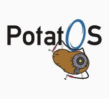 Potato GladOS One Piece - Short Sleeve