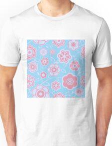 Pretty Petals - Flower Pattern Unisex T-Shirt