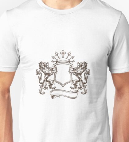 heraldry coat of fame Unisex T-Shirt