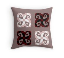 Cross of the Jester - Pattern Throw Pillow