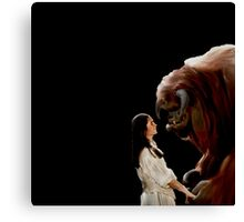 Ludo and Sarah - Labyrinth - Painting Canvas Print