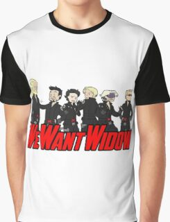 We Want Widow Graphic T-Shirt