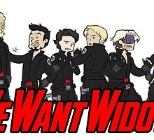 We Want Widow by Amaerise