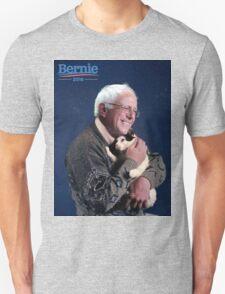Bernie Sanders and his cat T-Shirt