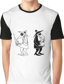 spy vs spy retro Graphic T-Shirt