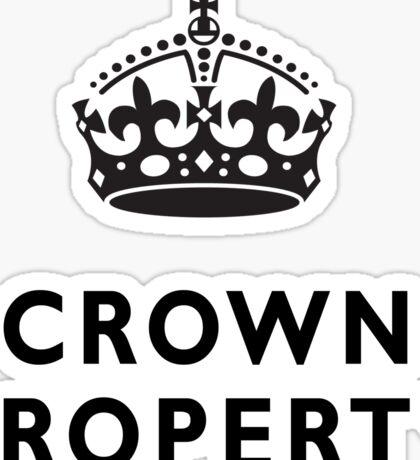 CROWN PROPERTY, THE QUEENS, BRITISH, UK, PRISON, ENGLAND Sticker