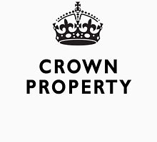 CROWN PROPERTY, THE QUEENS, BRITISH, UK, PRISON, ENGLAND Unisex T-Shirt