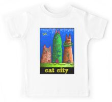Cat City revisited  Kids Tee