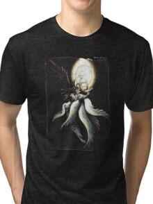 Safer Sephiroth vintage Tri-blend T-Shirt