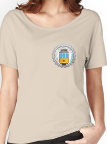 Symbols of Portugal - Lisboa Lisbon Tram #01 Women's Relaxed Fit T-Shirt