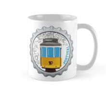 Symbols of Portugal - Lisboa Lisbon Tram #01 Mug