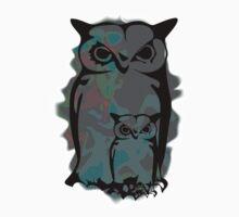 Little Big Owl Kids Tee