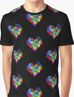THE GAME OF LOVE ( Dark Version ) Graphic T-Shirt