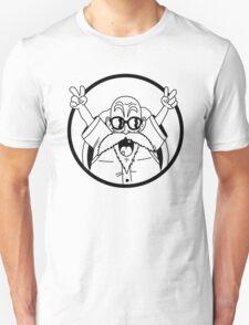 Master Roshi DBZ -  black T-Shirt