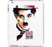 "Charles Spencer ""Charlie"" Chaplin iPad Case/Skin"