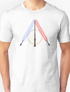 Fantasy Hallows (White Version) Unisex T-Shirt