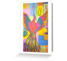 The Rising Phoenix Greeting Card