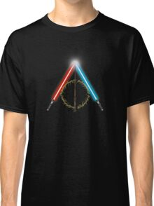 Fantasy Hallows (Black Version) Classic T-Shirt