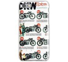 DKW motorrader iPhone Case/Skin