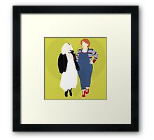 Plus Size Chucky and Bride of Chucky Framed Print