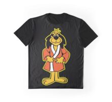 Hong Kong Phooey Standing Black Graphic T-Shirt