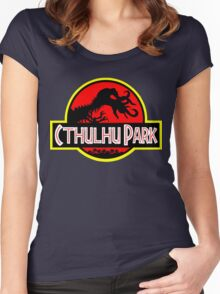 Cthulhu Park Women's Fitted Scoop T-Shirt