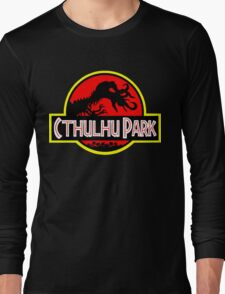 Cthulhu Park Long Sleeve T-Shirt