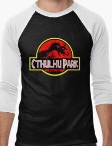 Cthulhu Park Men's Baseball ¾ T-Shirt
