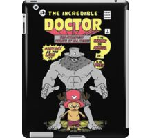 The Doctor Incredible iPad Case/Skin