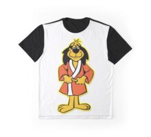 Hong Kong Phooey Standing White Graphic T-Shirt