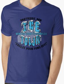 Parks and Rec: Ice Town Shirt Mens V-Neck T-Shirt
