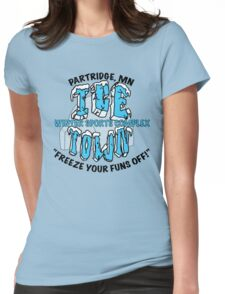 Parks and Rec: Ice Town Shirt Womens Fitted T-Shirt