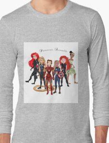 Princesses Assemble  Long Sleeve T-Shirt
