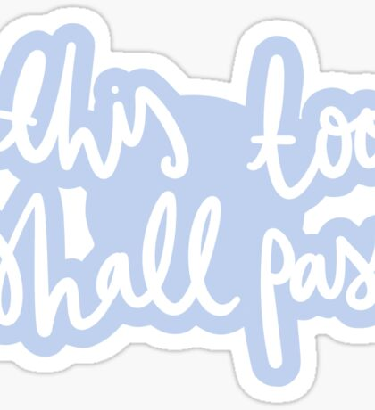 ok go - this too shall pass - remake Sticker
