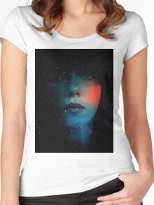 Under The Skin Women's Fitted Scoop T-Shirt