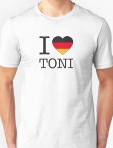 I ♥ TONI Unisex T-Shirt