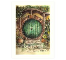 In a Hole in the Ground... Art Print
