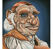 Hoggle - Oil Painting Photographic Print