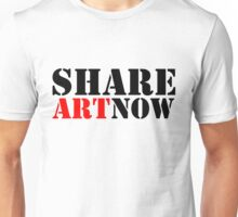 SHARE ART NOW - m a longbottom - platform58 Unisex T-Shirt