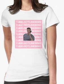 HOTLINE BLING - CHANDLER BING Womens Fitted T-Shirt