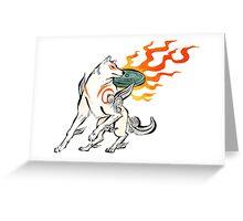 Amaterasu Greeting Card
