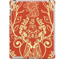 Piranha Damask - Orange iPad Case/Skin
